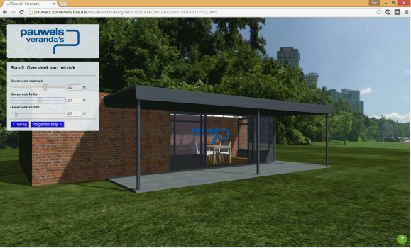 3D preview of house extention. (Image courtesy Tom Janssen.)