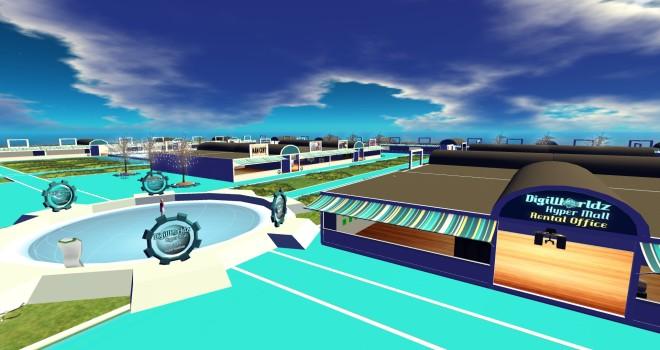 The DigiWorldz Hyper Mall.