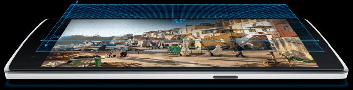 OnePlus One smartphone. (Image courtesy OnePlus.)