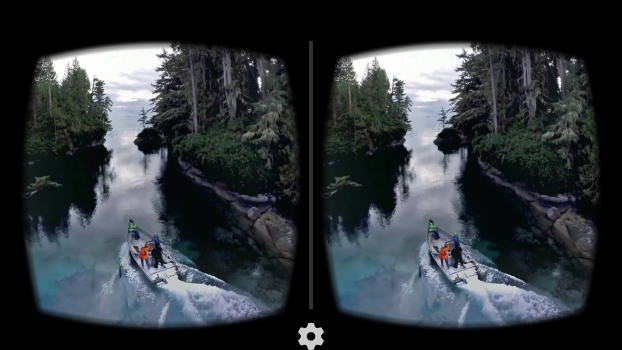 Take a virtual boat ride in British Columbia.