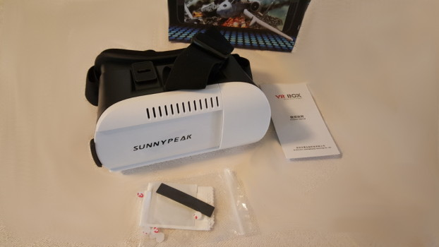 Sunnypeak package contents.