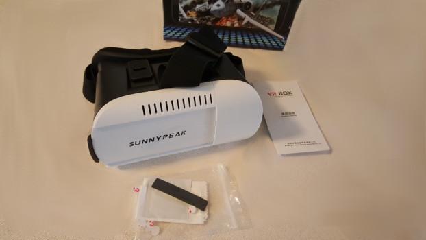 Sunnypeak package contents.