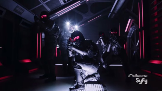 "Still from ""The Expanse"" trailer. (Image courtesy SyFy.)"