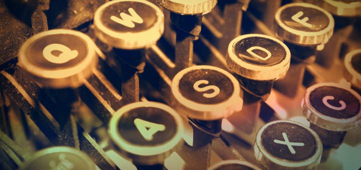 Underwood typewriter keys 2