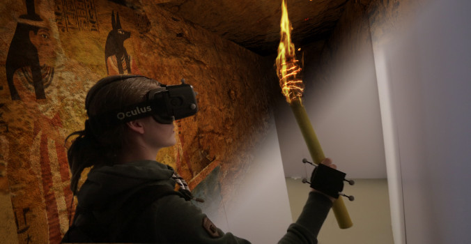 Real Virtuality: Immersive Explorers (Image courtesy Artanim Foundation, Kenzan Technologies)