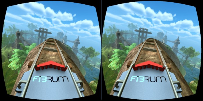 Fibrum Roller Coaster VR for iPhone and Android.