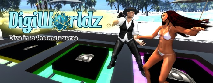One of several DigiWorldz promotional images for affiliates.
