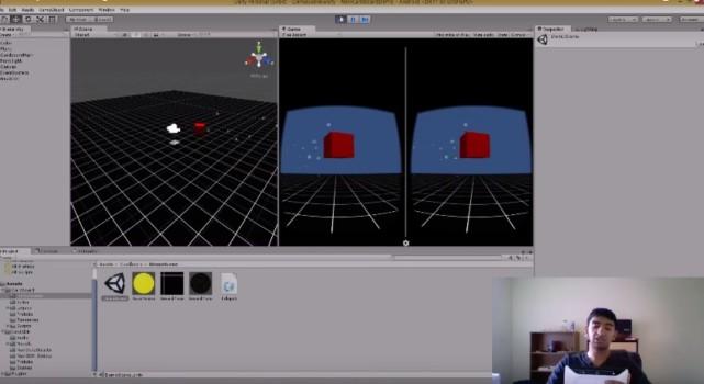 Navi demo screenshot.