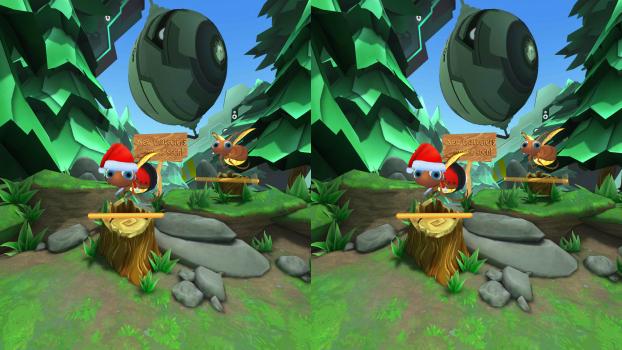 Screenshot from Lamper VR.