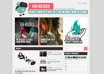 VR Nerds website