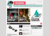 VR Nerds website