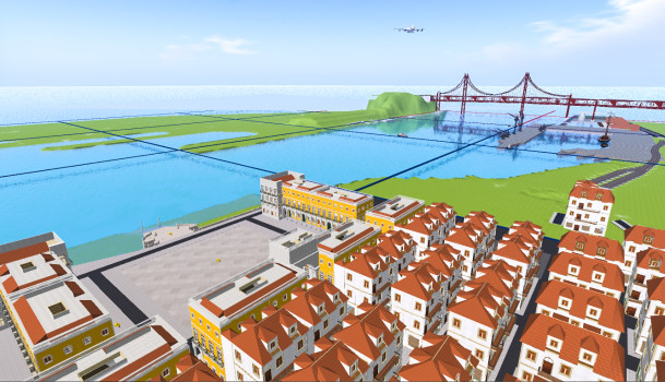 Virtual Lisbon. (Image courtesy Carlos Loff.)