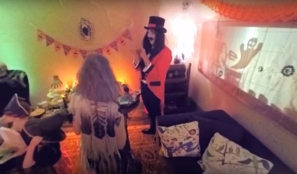 ASDA Halloween haunted house