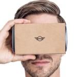 BMW-Mini Cardboard square