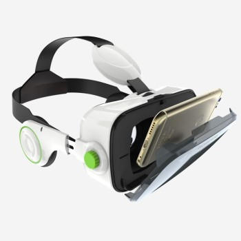 BoboVR Z4 offers a 120-degree field of view, integrated head phones.