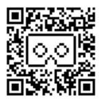 Sunnypeak headset very basic black QR code