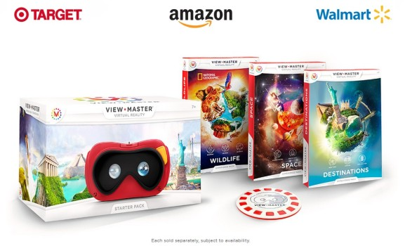 The new View-Master hit major retailers just in time for holiday shopping. (Image courtesy Mattel.)