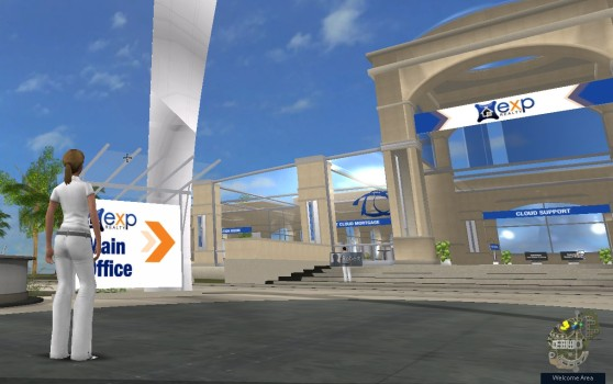 The virtual campus of eXp Realty.