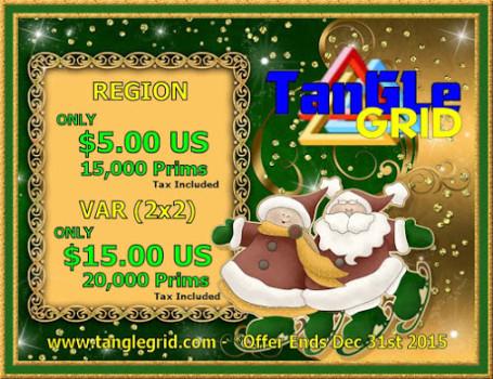 Tangle grid land sale 2015 holidays