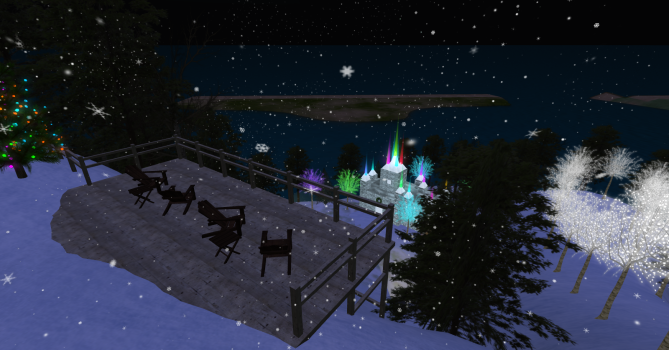 Winter Wonderland. (Image courtesy Exo-Life Virtual World.)
