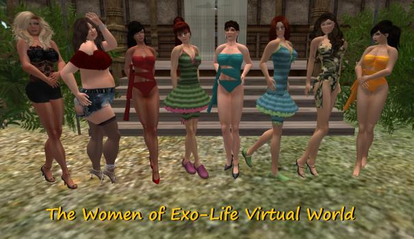 (Image courtesy Exo-Life Virtual World.)