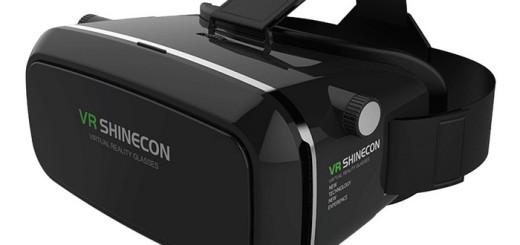 Shinecon VR headset black