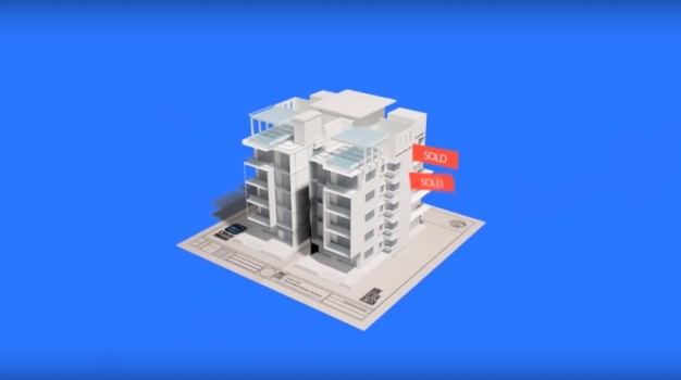 An imported building in the Entiti app. (Image courtesy WakingApp.)