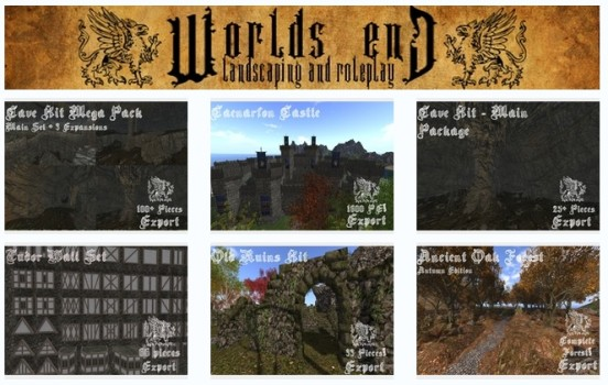 Worlds End Landscaping amd Roleplay store
