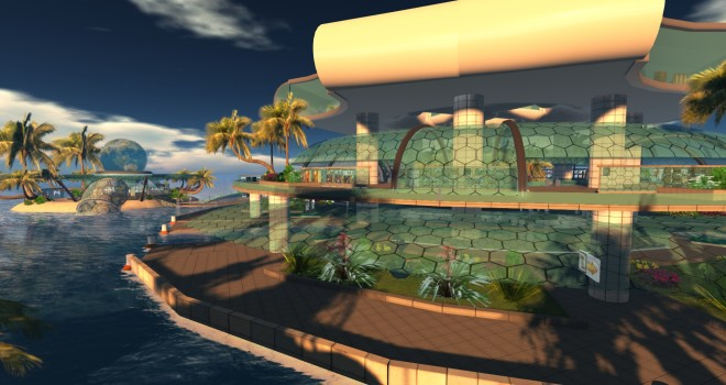 The welcome region for Island Oasis at http://www.islandoasis.biz/.