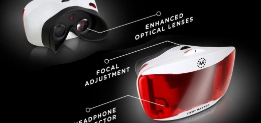 The new View-Master will get upgraded lenses, focal adjustment, and a headphone connector. (Image courtesy Mattel.)