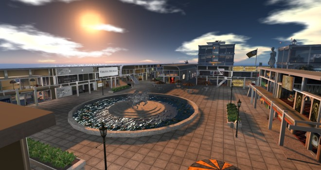 OSgrid's Wright Plaza at hg.osgrid.org:80:Wright Plaza.