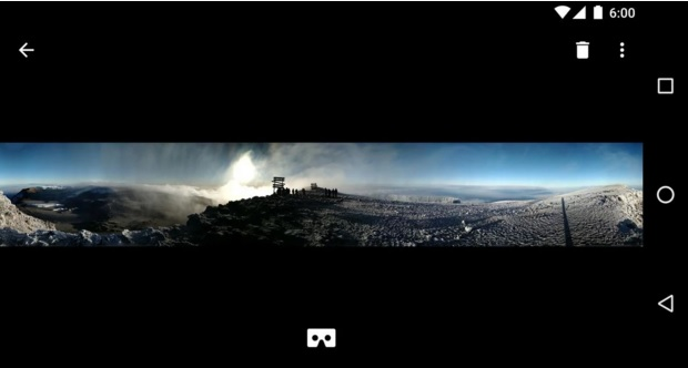 Panorama filmed with Google's new Cardboard Camera app. (Image courtesy Google.)