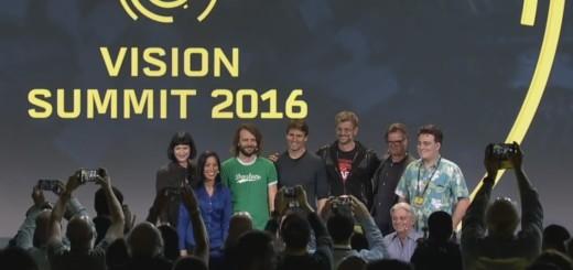 Keynote speakers at the Vision Summit 2016.
