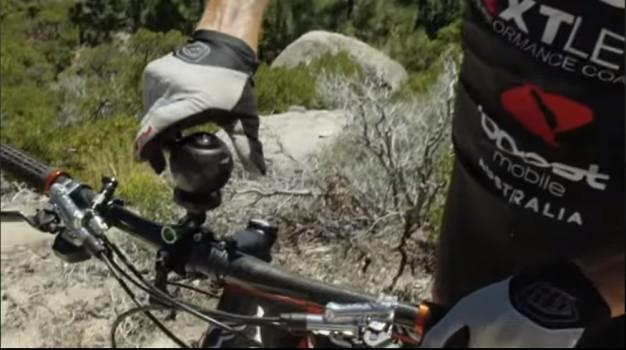 360fly camera on a bike mount. (Image courtesy 360fly.)