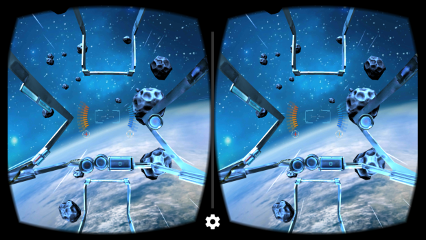 End Space VR screenshot with a wide field of view.