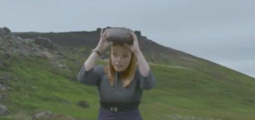 BBC reporter Sian Grzeszczyk visits crime scene in VR. (Image courtesy BBC.)