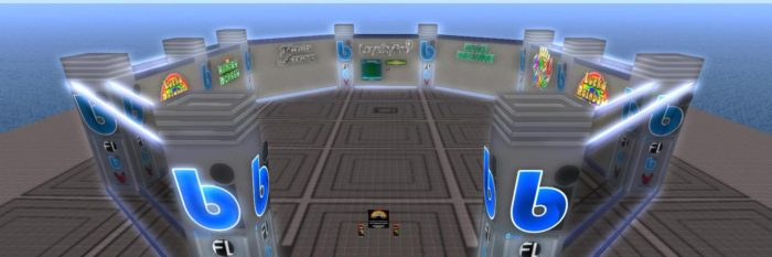 Froggy Leisure has been in the gaming business since 2009. It operates casinos in Second Life, Avination, and YrGrid. (Image courtesy Froggy Leisure.)