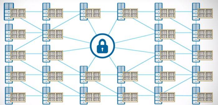 Blockchain diagram. (Image courtesy IBM.)