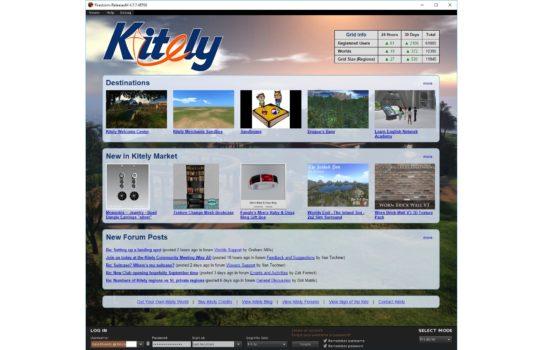 New Kitely login screen. (Image courtesy Kitely.)