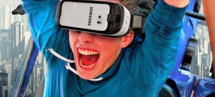 Six Flags' New Revolution Virtual Reality Coaster. (Image courtesy Six Flags.)
