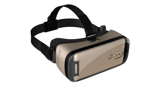 ZTE VR headset. (Image courtesy ZTE.)