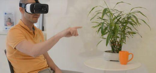 Gesture control for Gear VR by eyeSight.