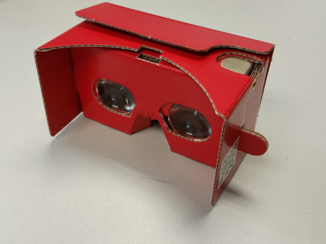 Google Cardboard. (Image courtesy Arch Virtual.)