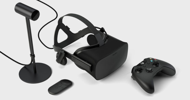 Oculus Rift Consumer Version. (Image courtesy Arch Virtual.)