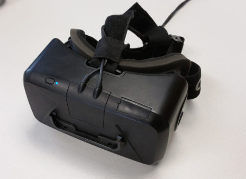 Oculus Rift Developer Kit 2. (Image courtesy Arch Virtual.)