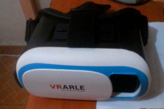 My VRARLE headset. (Photograph by David Kariuki.)