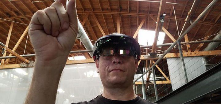 Microsoft HoloLens. (Image courtesy Eddie Offermann.)