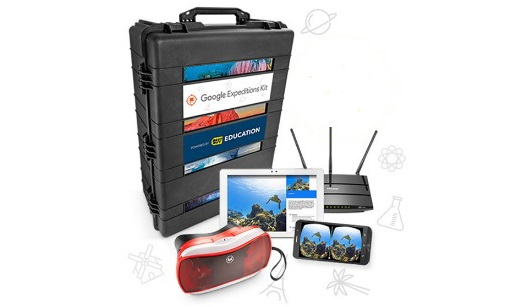 Best Buy's Google Expeditions Kit.