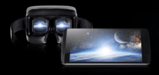 Lenovo K4 Note and VR headset. (Image courtesy Lenovo.)