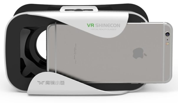 Shinecon Mini with phone